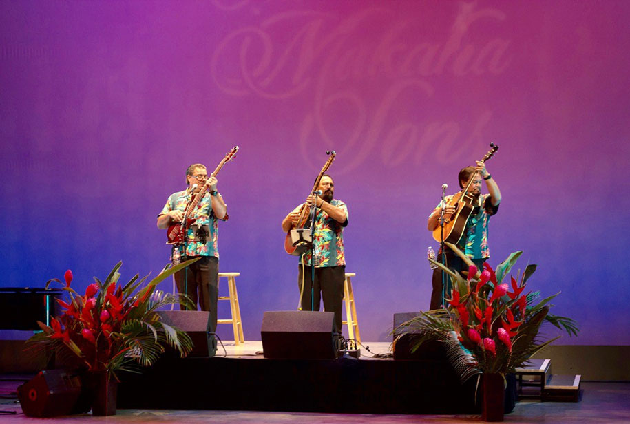 Makaha Sons Performing